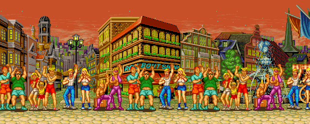 Fatal Fury: King of Fighters - The Happy Park, Evening 0.1