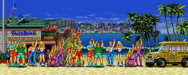 Fatal Fury: King of Fighters - Sound Beach, Day 0.2