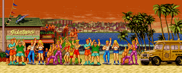Fatal Fury: King of Fighters - Sound Beach, Evening 0.1