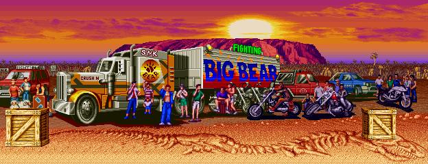 Fatal Fury 2 - Big Bear Stage 0.1