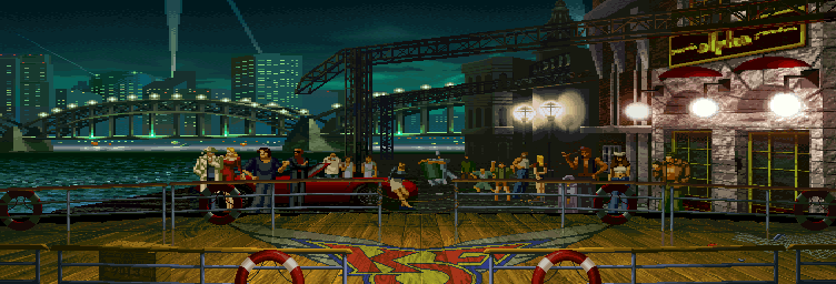 The King of Fighters 96 - Wharf Updated with permission