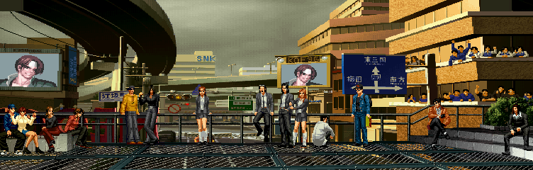 The King of Fighters 96 - Hero Team's Stage 0.1