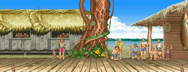 Street Fighter II: The World Warrior - Amazon River Basin 0.1