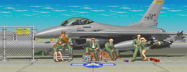 Street Fighter II: The World Warrior - Certain Air Force Base 0.1