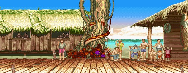 Street Fighter II': Champion Edition - Amazon River Basin 0.1