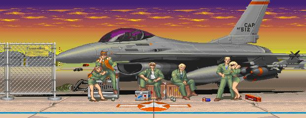 Street Fighter II': Champion Edition - Certain Air Force Base 0.1
