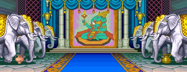 Street Fighter II': Champion Edition - Maharajah's Palace 0.1