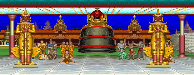Street Fighter II': Champion Edition - Ramayana Temple 0.1