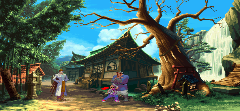 Street Fighter III: New Generation - Kyoto, round 1 0.1