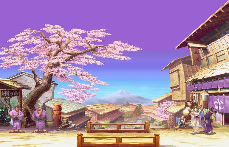 Street Fighter III: New Generation - Tokyo, round 1 0.1
