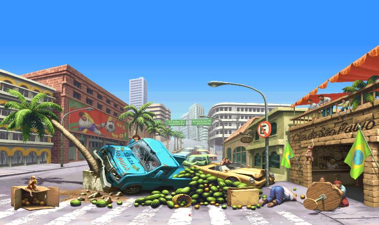 Street Fighter III: 2nd Impact - São Paulo 0.1b