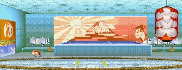 Super Street Fighter II Turbo - Edo Hot Baths 0.1