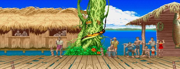 Super Street Fighter II Turbo - Amazon River Basin 0.1