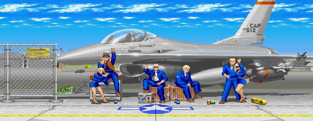 Super Street Fighter II Turbo - Certain Air Force Base 0.1