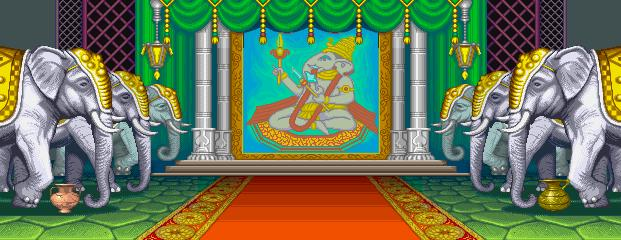 Super Street Fighter II Turbo - Maharajah's Palace 0.1
