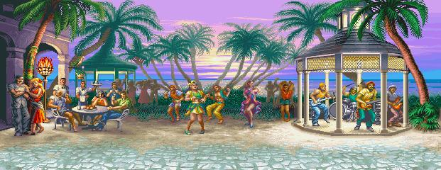 Super Street Fighter II Turbo - Sunset at Sunset at ''Lemony'' 0.1
