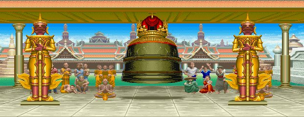 Super Street Fighter II Turbo - Ramayana Temple 0.1