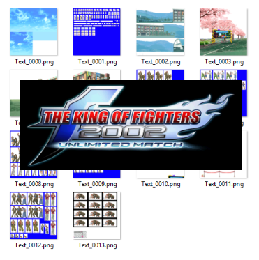 Mfg The King Of Fighters 2002 Unlimited Match Steam Stages Sprite Pack